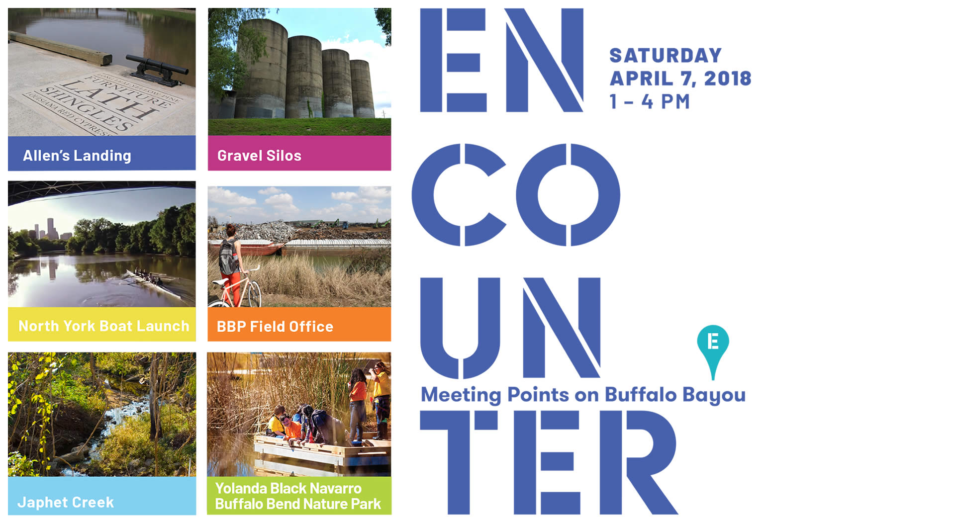 UH GAP | ENCOUNTER: Meeting Points on Buffalo Bayou