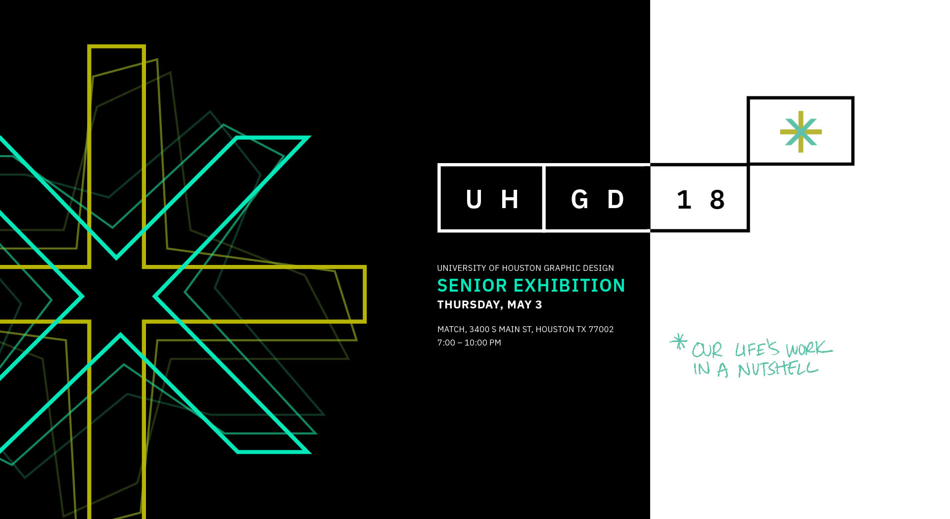 UH GAP | University of Houston Graphic Design Senior Exhibition